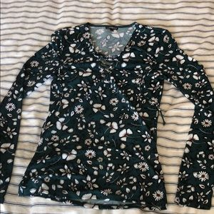 Express long-sleeved blouse. Size S